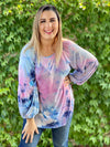 Blown Away Tie Dye Long Sleeve