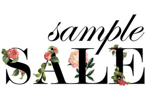 Sample Sale 3/17/20 *Final Sale*