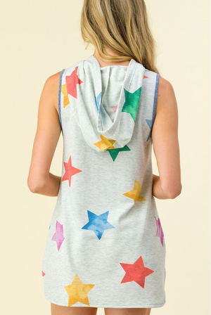 Twinkle In Your Eye Tank Hoodie