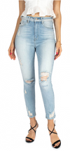 BRONX LIGHT WASH SKINNY