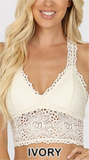 Mylah Lace Stretch Bralette with Removable Pads