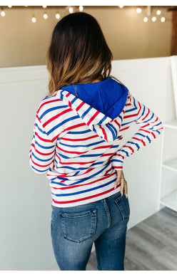 FREEDOM HALF ZIP SWEATSHIRT