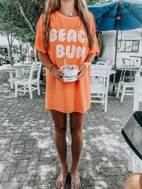 """Beach Bum"" Graphic Tee"