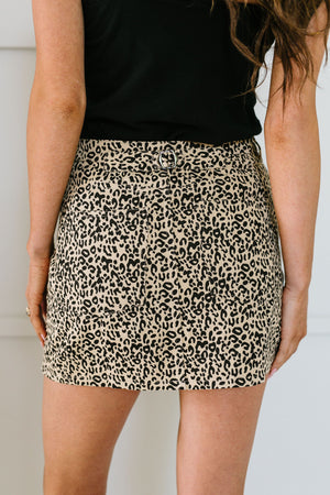 Kitty Kat Mini Skirt