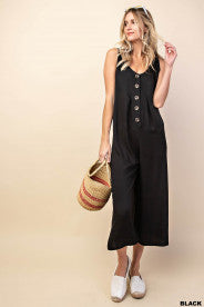 PIPPA BUTTON DOWN JUMPSUIT