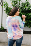 Tie Dyed Waffles Top