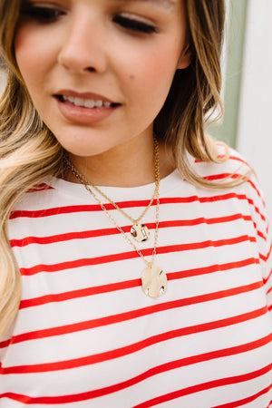 We're Golden Layered Necklace
