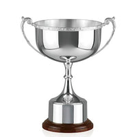 "Silver Golf Trophy Celtic Mounted Cup 11.5""/29cm -42-CM484B"
