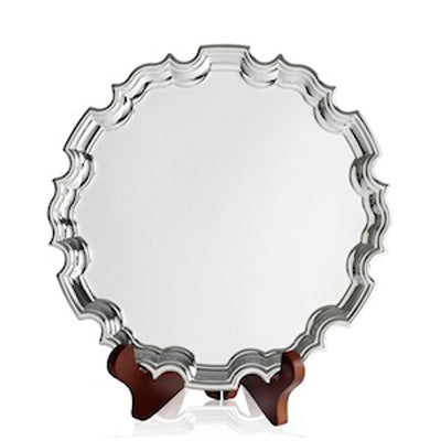 "Silver Golf Trophy Chippendale Tray 10""/25cm - 59-CN1503B"