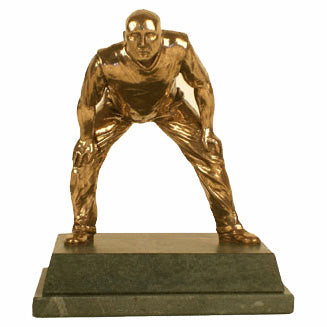 Slip Fielder. High quality bronze cricket trophy-S17