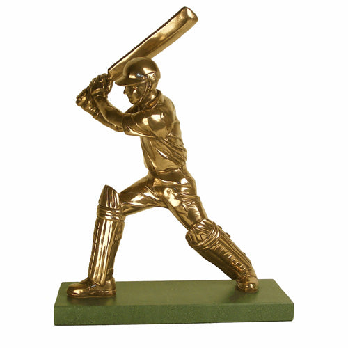 Cricketer Batsman trophy. Great cricket match trophy-S7a