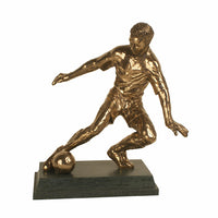 Football trophy figure perfect tournament or man of the match award-S87