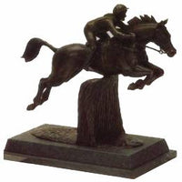 Horse-Show Jumper trophy. Great award for trials or gymkhana-H2