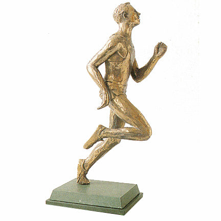 Runner Trophy. A high quality bronze award for your athletics event-S19