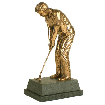 "Golf trophy and award for putting - 8.5""/22cm S103"