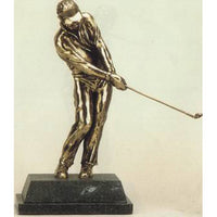 "Golf trophy and award of golfer pitching - 8""/20.5cm S52"