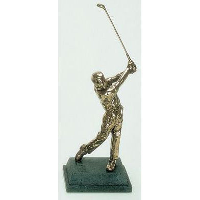 "Golf trophy of Golfer aiming for green - 8.5""/22cm S69"