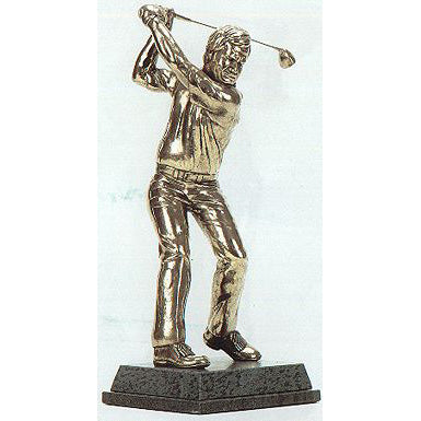 "Golf trophy portrait of Jack Nicklaus seniors golf icon- 13""/33.5cm S77"