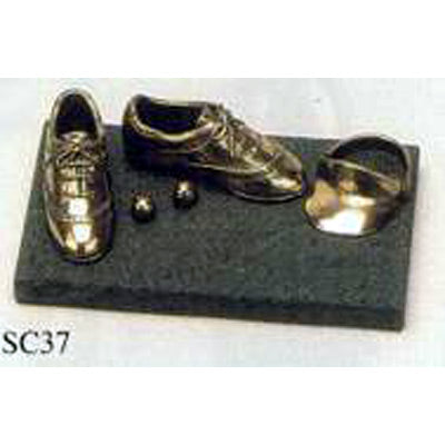 "Golf Shoes Balls & Visor Prize - 2.5""/6.5cm SC37"