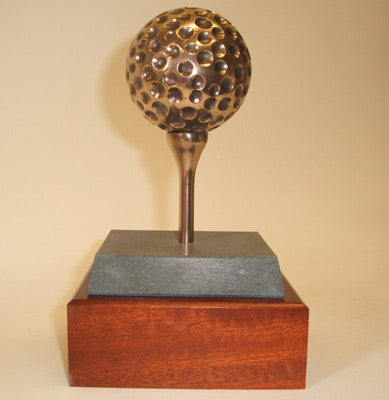 "Golf trophy Bronze Golf Ball  5""/13cm SC45B"