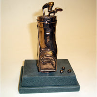 "Bronze Trophy Golf Bag -  4.5""/11.5cm SC63"
