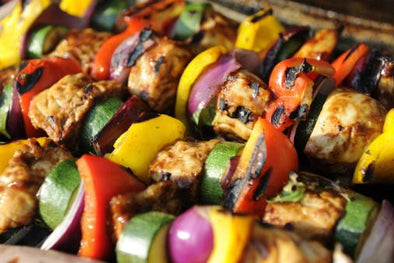 Vegetable Kebabs