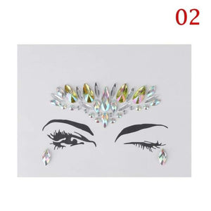 Eyebrow Adhesive Crystal Glitter - Teqtus