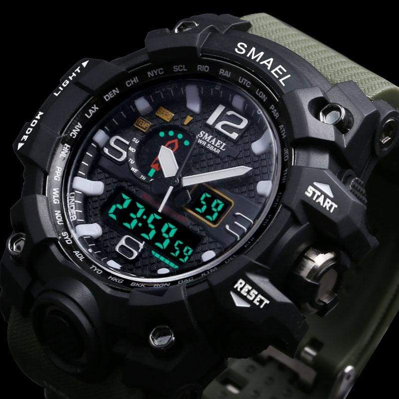Military Camo Sports Watch - Christmas addition - Teqtus