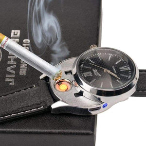 Luxury Rechargeable Lighter Watch - Teqtus
