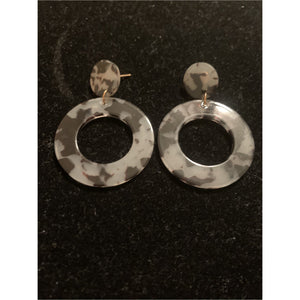 Tortoise Stone Earrings