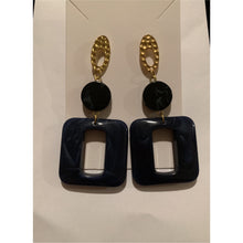 Load image into Gallery viewer, Better In Navy Earrings