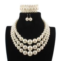 3 Piece Pearl Statement