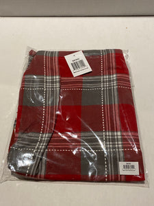 Apron Red/Grey