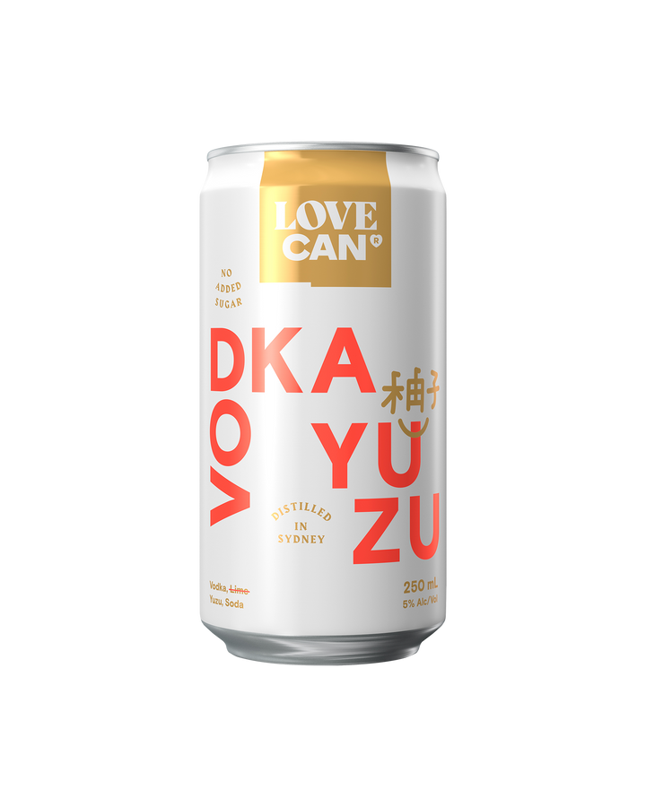 Love Can Vodka Yuzu