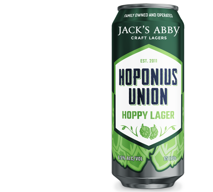 Jack's Abby Hoponius Union Hoppy Lager 473ml - Hop Vine & Still