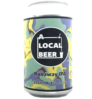 A Local Beer Runaway IPA 375ml - Hop Vine & Still