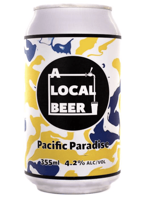 A Local Beer Pacific Paradise 355ml - Hop Vine & Still