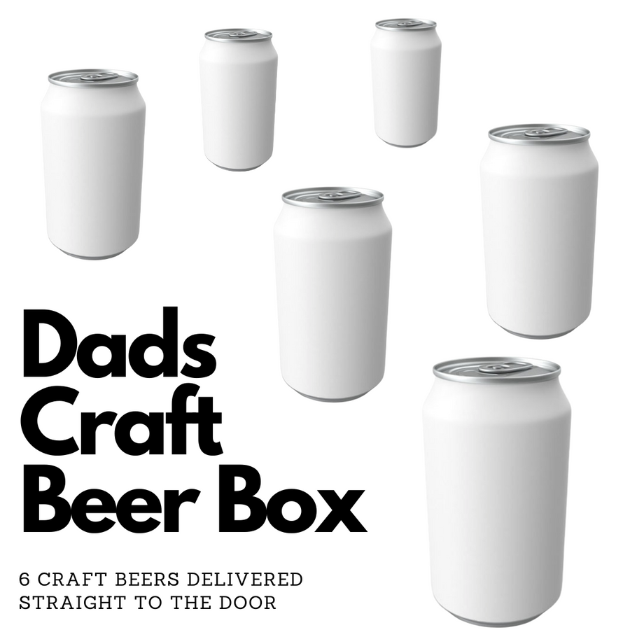 Dad's Craft Beer Box - Ongoing Subscription - Hop Vine & Still