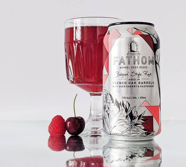 Fathom Belgian Style Red with Sour Cherry & Raspberry 375ml