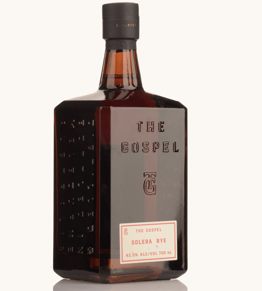 The Gospel Solera Australian Rye Whisky 700ml - Hop Vine & Still