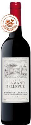 Chateau Flamand-Bellevue Bordeaux Rouge 2018 6 x 750mL - Hop Vine & Still