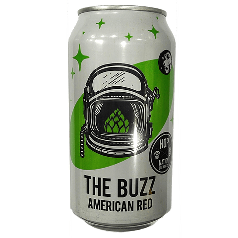 Hop Nation The Buzz American Red 375ml