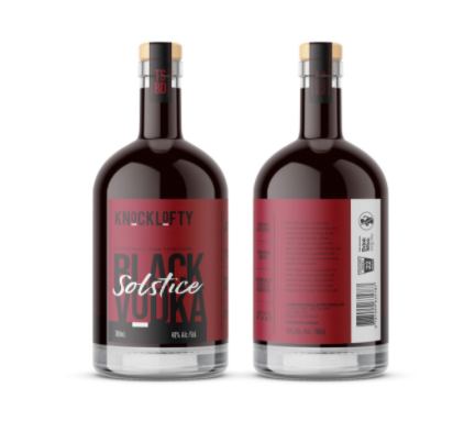 Knocklofty Black Solstice Vodka 700ml