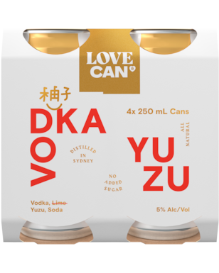 Love Can Vodka Yuzu x4