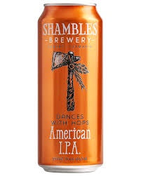 Shambles Dances With Hops American IPA 4 x 500ml - Hop Vine & Still