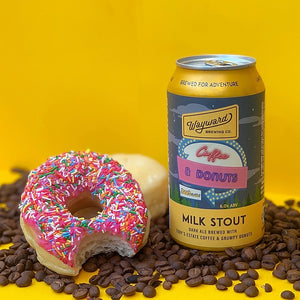 Wayward Brewing Co. Coffee & Donuts Milk Stout 375mL - Hop Vine & Still