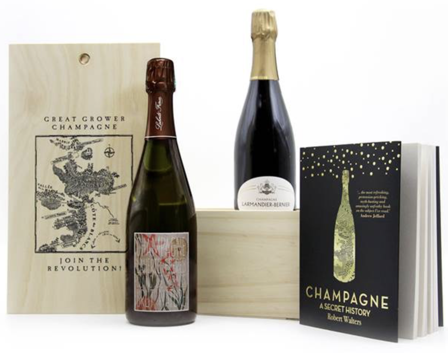 Great Grower Champagne Gift Box - Hop Vine & Still