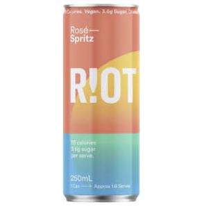Riot Wine Co Rose Spritz Can 250ml - Hop Vine & Still