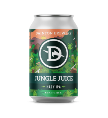 Dainton Brewery Jungle Juice Hazy IPA 335mL