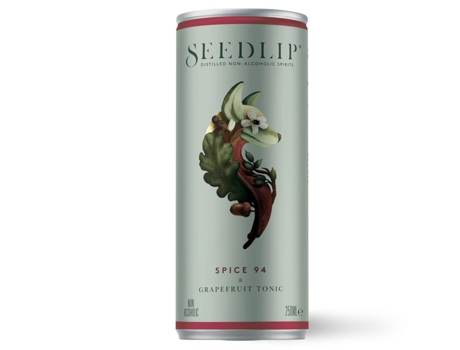 Seedlip Spice 94 & Tonic 250ml - Hop Vine & Still